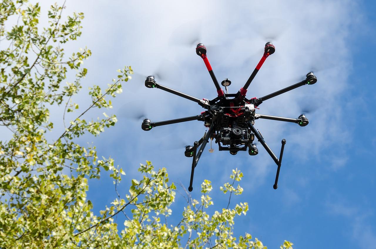 Drony a IoT