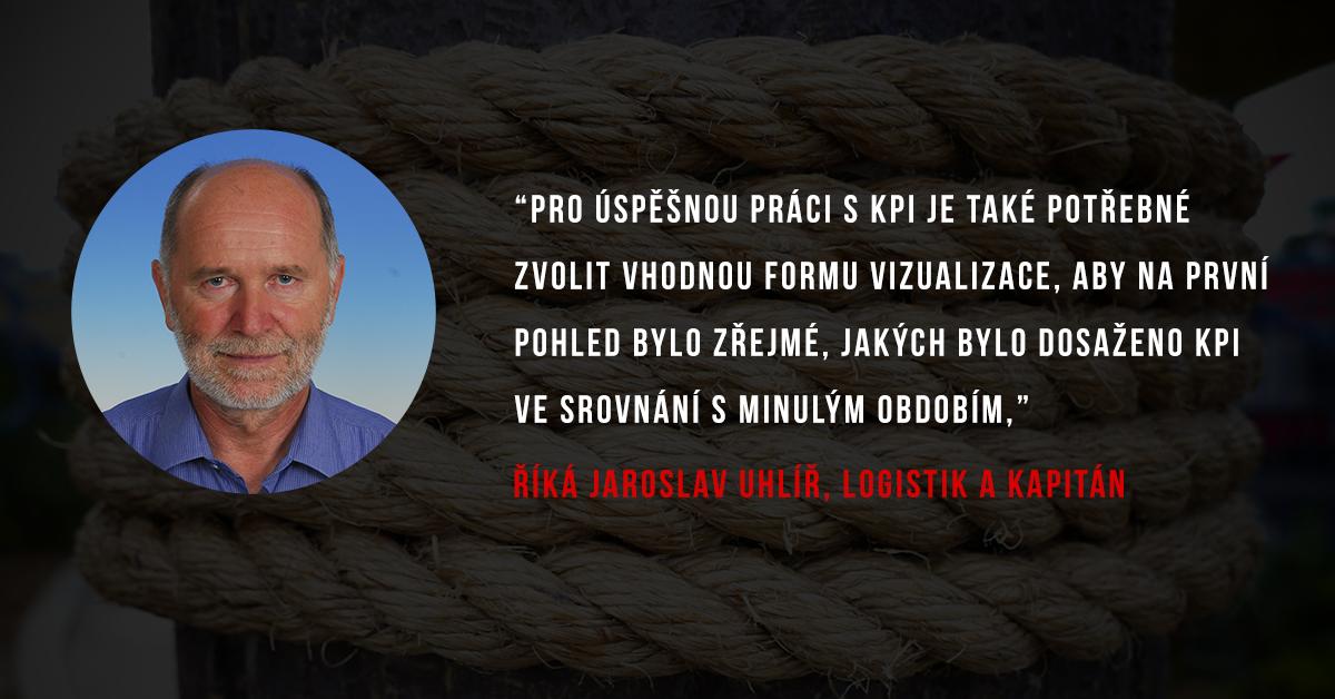 Jaroslav Uhlíř z Slovlogistik a Komory logistických auditorů